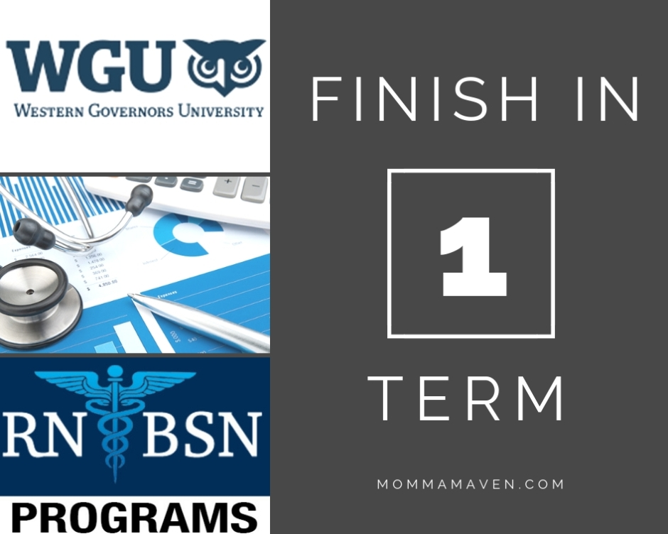 WGU- Single Term Completion Tips – Momma Maven
