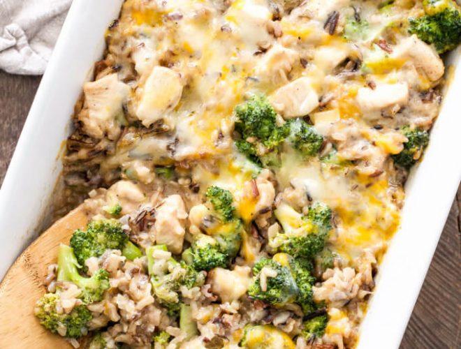 Broccoli-Chicken-and-Cheese-Wild-Rice-Casserole1-660x500