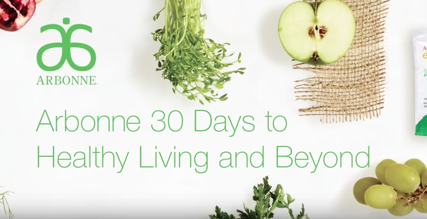Living Recipes Arbonne 30 Days Healthy