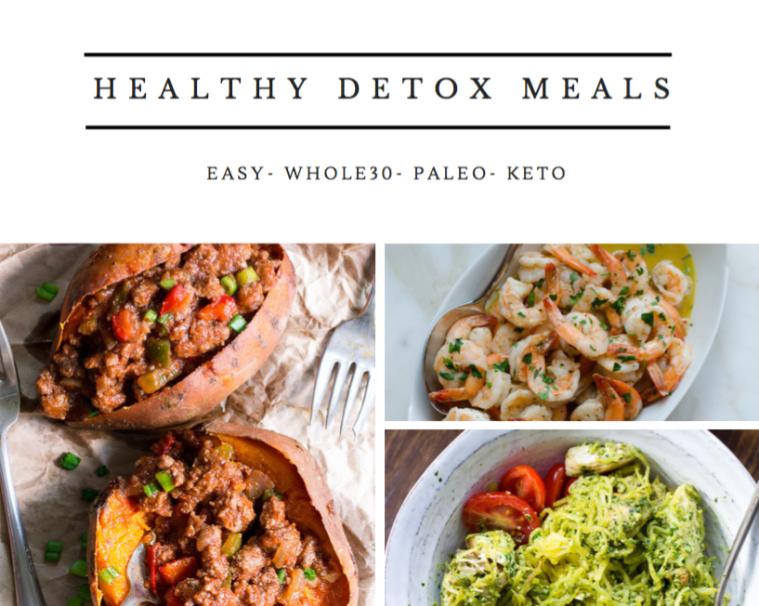 Healthy Detox Meals