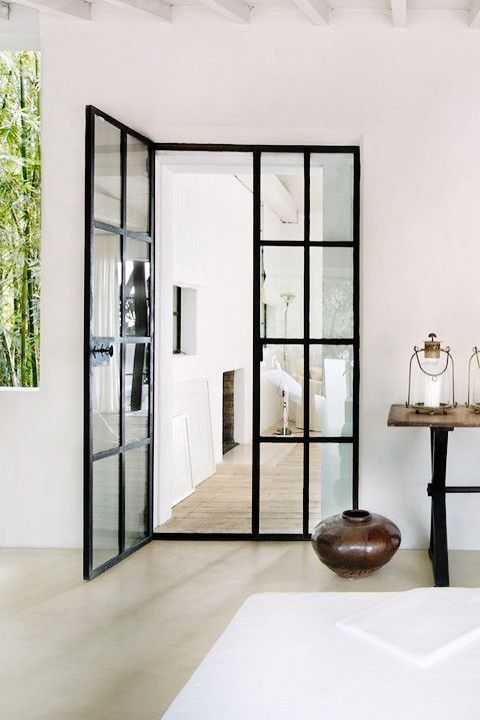 soundproof-bedroom-door--black-metal-framing-will-give-french-doors-a-fresh-new-look-still-refined-as-before-about-astounding-remodel