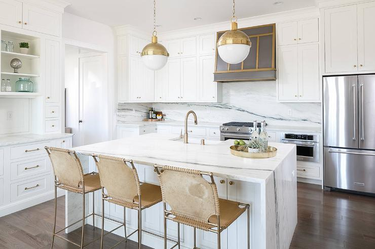 white-waterfall-center-island-godl-suede-barstools